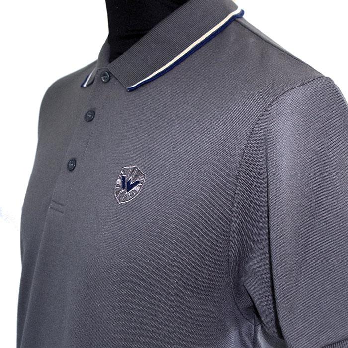 Twin Tipped Polo Shirt by Warrior Clothing- Gun Metal