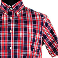 Vintage Button Down Shirt by Warrior Clothing- RUDY