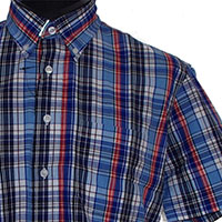 Vintage Button Down Shirt by Warrior Clothing- SHELLEY