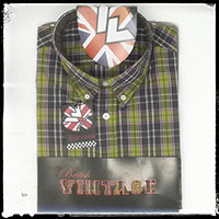 Vintage Button Down Shirt by Warrior Clothing- START