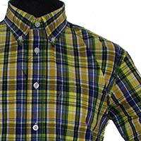 Vintage Button Down Shirt by Warrior Clothing- STRUMMER