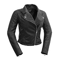 Fatale Womens Vegan Motorcycle Jacket by First MFG