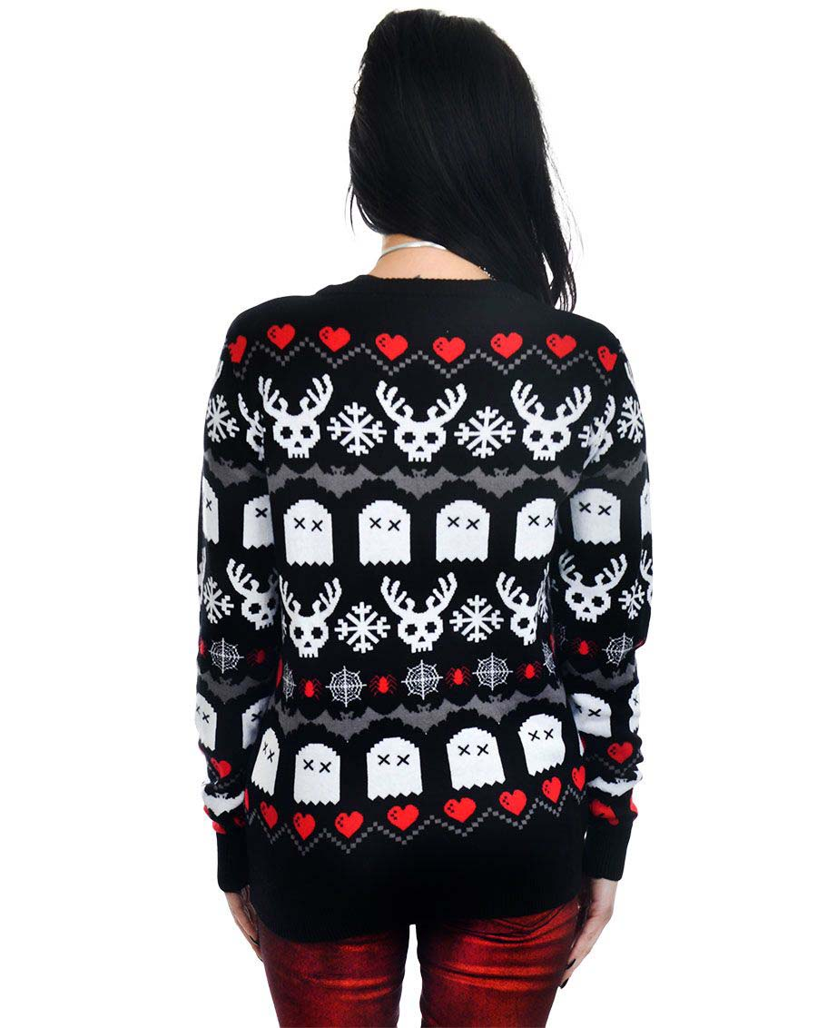 Have yourself a creepy little christmas sweater by too fast rat have yourself a creepy little christmas sweater by too fast rat baby clothing sale sz m only solutioingenieria Images