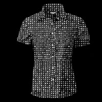 Zodiac Killer Cypher Button Up Shirt by Western Evil