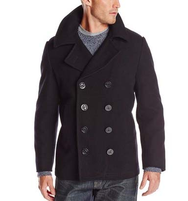 USN Pea Coat by Alpha Industries