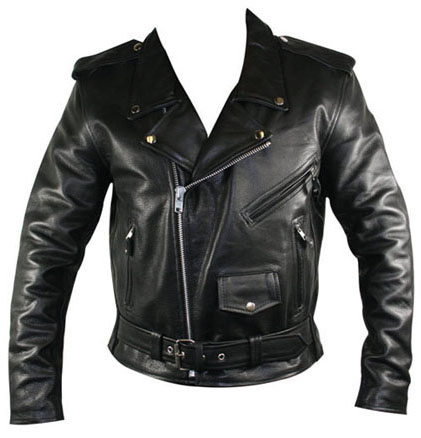 Biker Jacket By Angry Young And Poor Black Vegan Sale