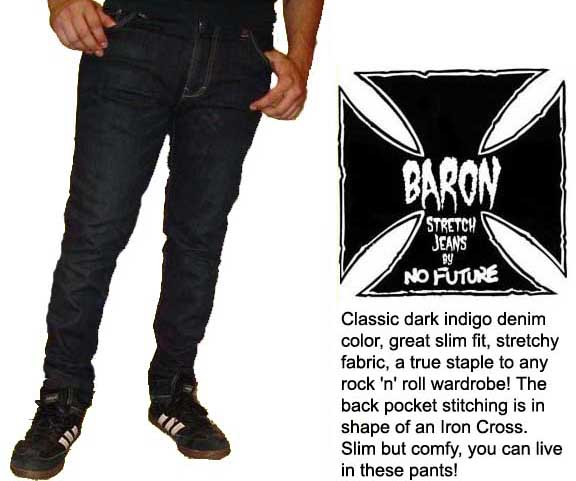 Baron Slim Fit Jeans by No Future (Sale price!)