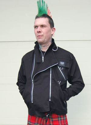 Zip Jacket by Tiger Of London- BLACK