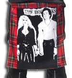Red Plaid Bum Flap With Sid & Nancy Print by Tiger Of London