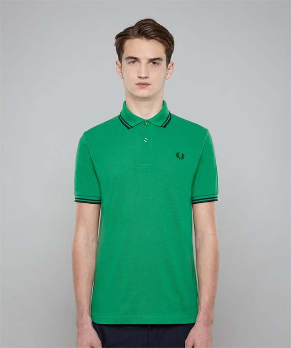 fred perry laurel collection twin tipped polo shirt rgb. Black Bedroom Furniture Sets. Home Design Ideas