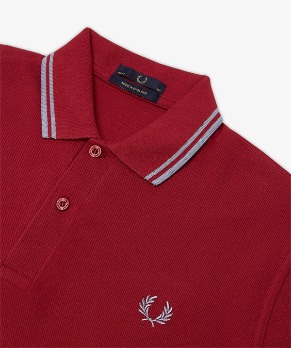fred perry laurel collection twin tipped polo shirt. Black Bedroom Furniture Sets. Home Design Ideas