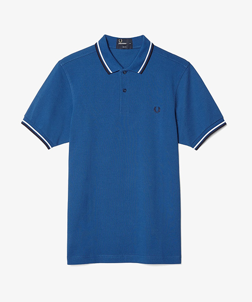 fred perry slim fit polo shirt royal sale price. Black Bedroom Furniture Sets. Home Design Ideas