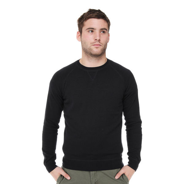 Crew Neck Sweater in RICH NAVY by Ben Sherman (Sale price