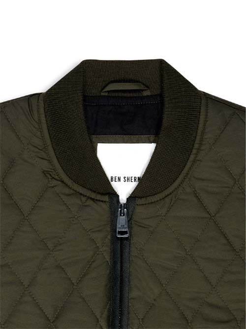 Bomber Jacket by Ben Sherman- FOREST NIGHT (Sale price!)