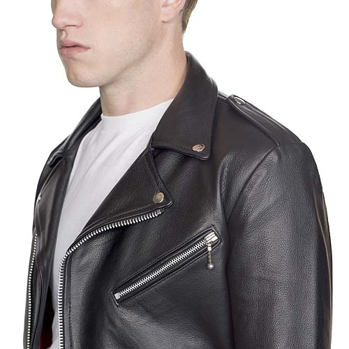 Straight to hell leather jacket
