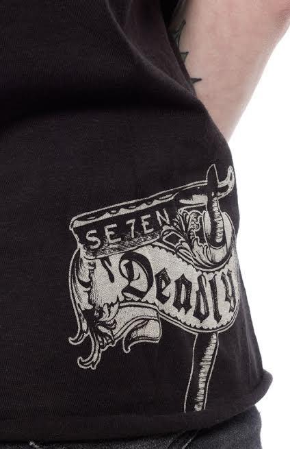 4b834651 Peacemaker Girls Muscle Tee by Se7en Deadly - SALE in brown size L & XL  only. »