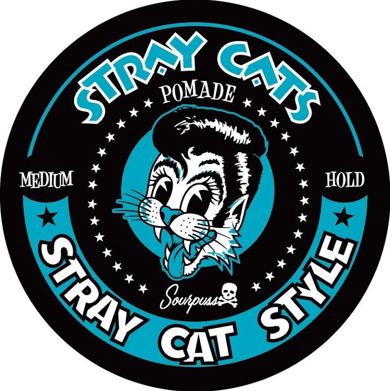 Stray Cats - Cat Style Pomade- Medium Hold - from Sourpuss