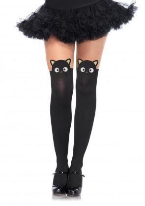 Chococat Faux Thigh High Pantyhose