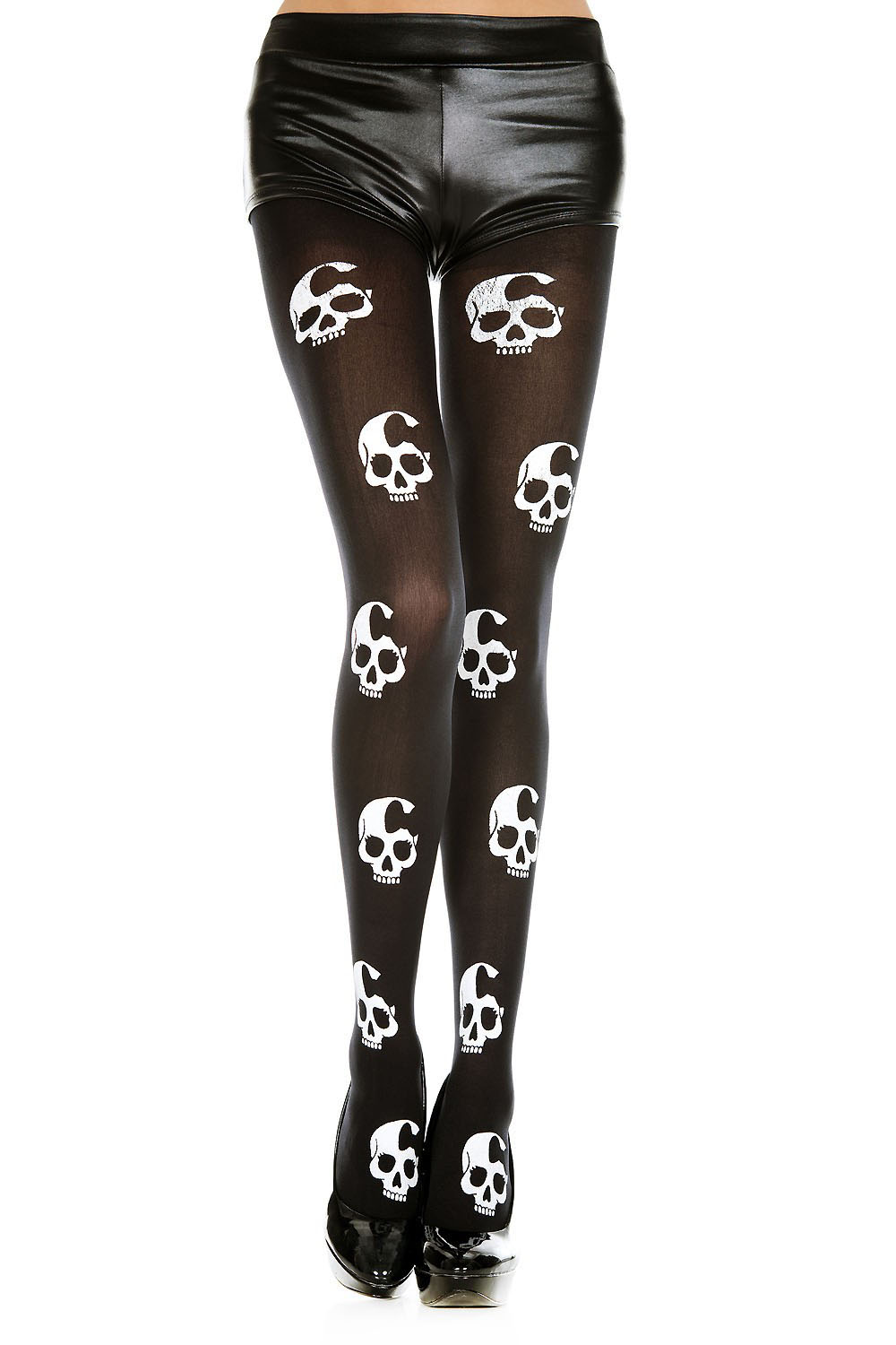 Repeat Girly Skull Tights