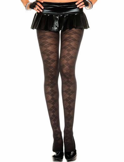 Argyle Design Pantyhose