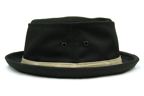 ca60a58a351 Cotton Stingy Hat In BLACK by New York Hat Co.