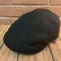 Black Denim Pub Scally Cap by New York Hat Co.