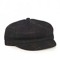 Newsboy Cap by Banned Apparel - Black