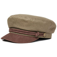 Fiddler Hat by Brixton- ARMY/BISON