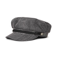Fiddler Hat by Brixton- BLACK ACID WASH