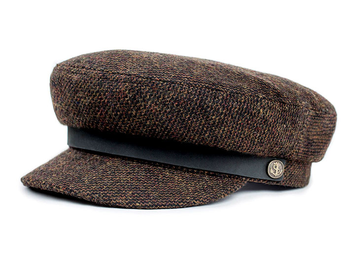 Fiddler Hat by Brixton- BROWN COMBO