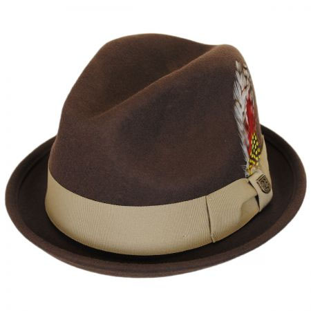 Gain Hat by Brixton- LIGHT BROWN (Sale price!)