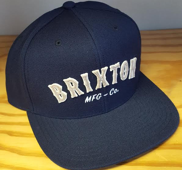 Harold Snap Back Hat by Brixton- NAVY (Sale price!)