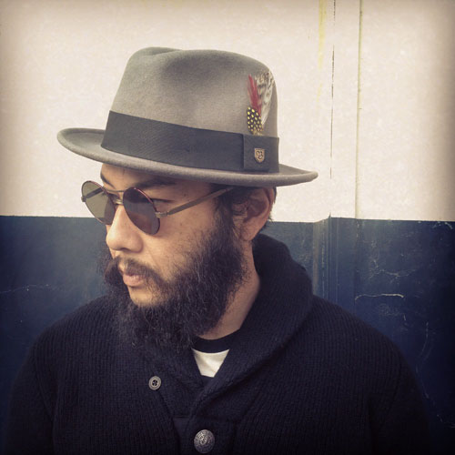 Jones II Hat by Brixton- Grey (Sale price!)