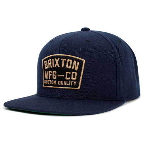 National Snap Back Hat by Brixton- NAVY (Sale price!)