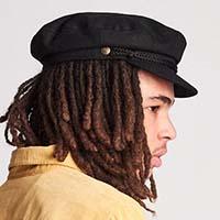 Fiddler Hat by Brixton- BLACK