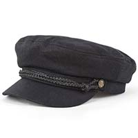 Fiddler Hat by Brixton- BLACK
