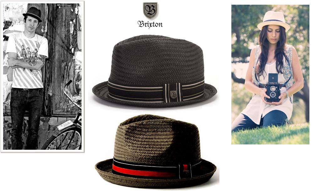 9c9c9247393e2 Castor Straw Hat by Brixton- Copper (Sale price!)