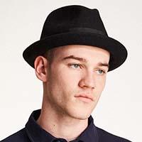 Gain Hat by Brixton- Black