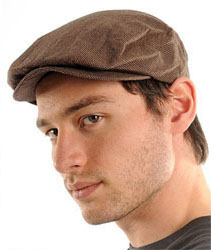 Hooligan Hat by Brixton- Brown/Khaki (Sale price!)