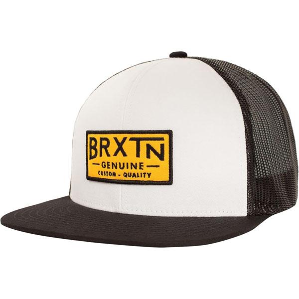 Dunning Trucker Hat by Brixton- WHITE / BLACK