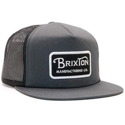 Grade Trucker Hat by Brixton- BLACK / CHARCOAL
