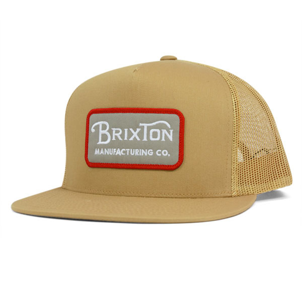 Grade Trucker Hat by Brixton- COPPER (Sale price!)