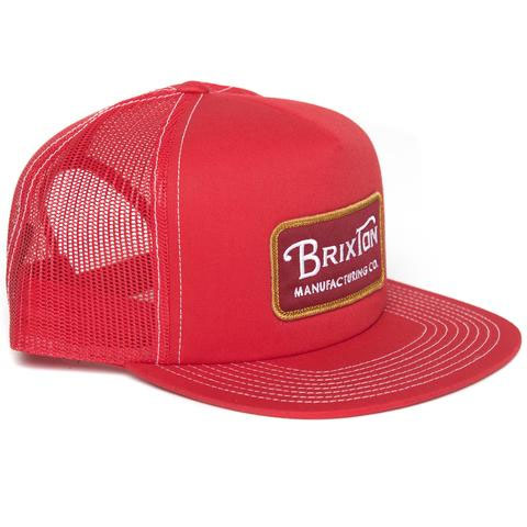 Grade Trucker Hat by Brixton- RED (Sale price!)