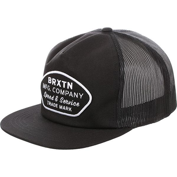 Hixson Trucker Hat by Brixton- BLACK (Sale price!)