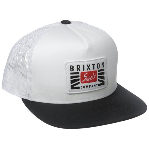 Petrol Trucker Hat by Brixton- WHITE / BLACK (Sale price!)