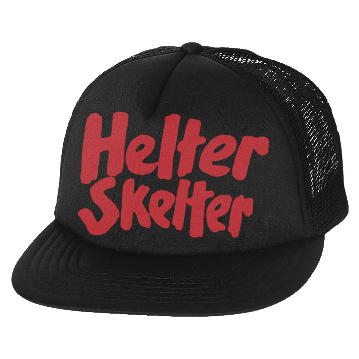 Helter Skelter Trucker Hat by Western Evil