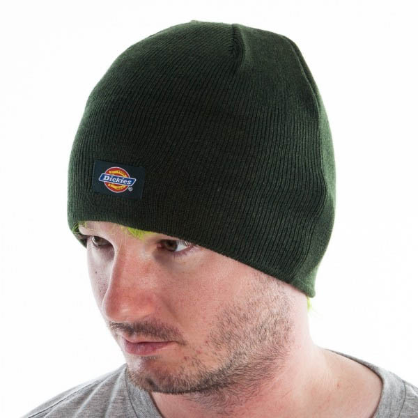 Dickies- Beanie in HUNTER GREEN