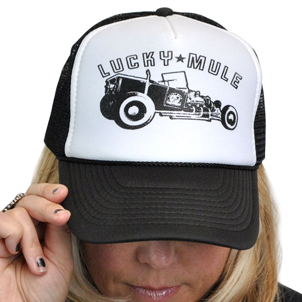 Badass Bucket Trucker Hat by Lucky Mule (Sale price!)