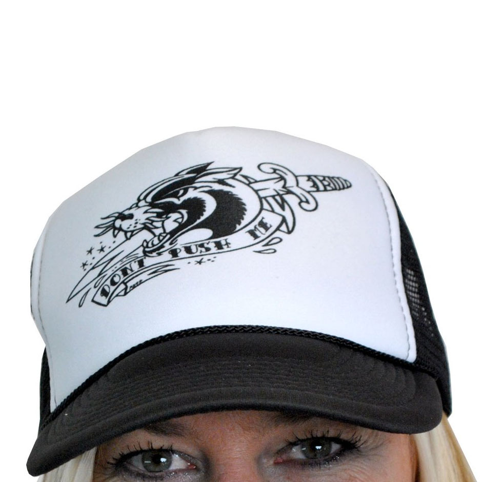 Don't Push Me Trucker Hat by Lucky Mule (Sale price!)