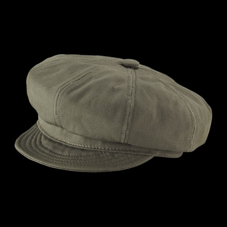 Canvas Spitfire Hat by New York Hat Co.